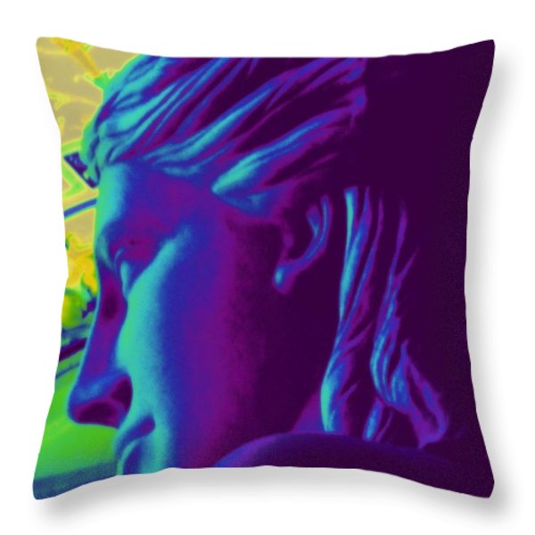 My Vegas Caesars 16 Throw Pillow by Randall Weidner