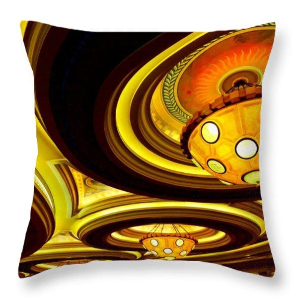 My Vegas Caesars 24 Throw Pillow by Randall Weidner