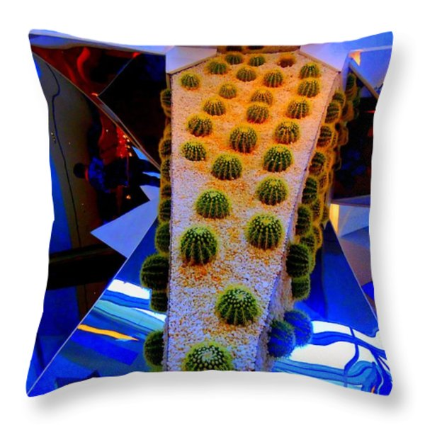 My Vegas City Center 41 Throw Pillow by Randall Weidner