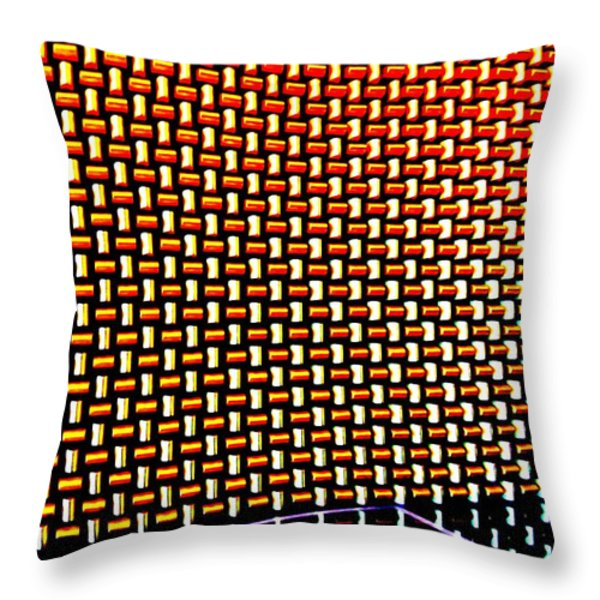 My Vegas City Center 52 Throw Pillow by Randall Weidner