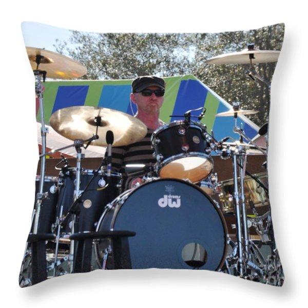 Myron Grombacher Throw Pillow by John Black