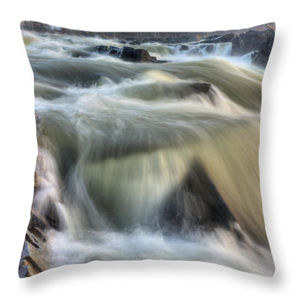 Natural Violence  Throw Pillow by JC Findley