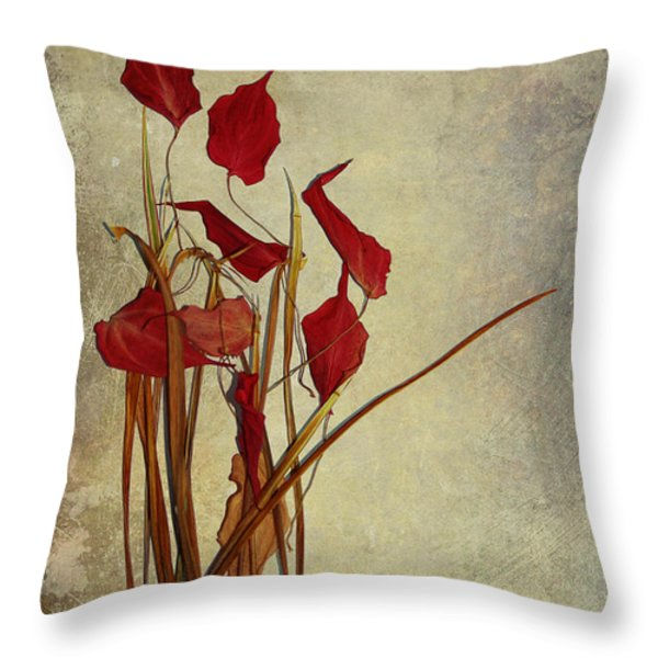 Nature Morte Du Moment Throw Pillow by Aimelle