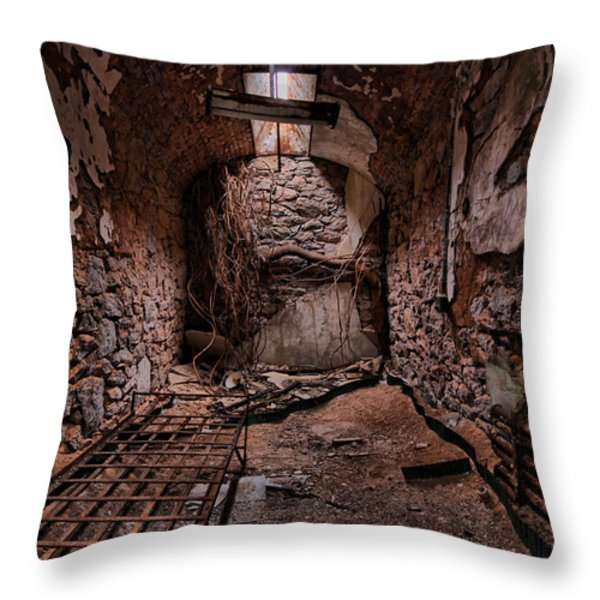 Nature's Reclamation Throw Pillow by Andrew Paranavitana