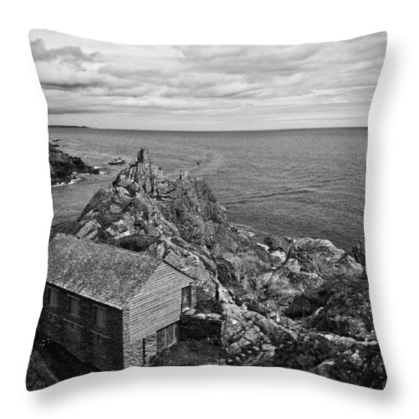 Net Shed Throw Pillow by Jay Lethbridge