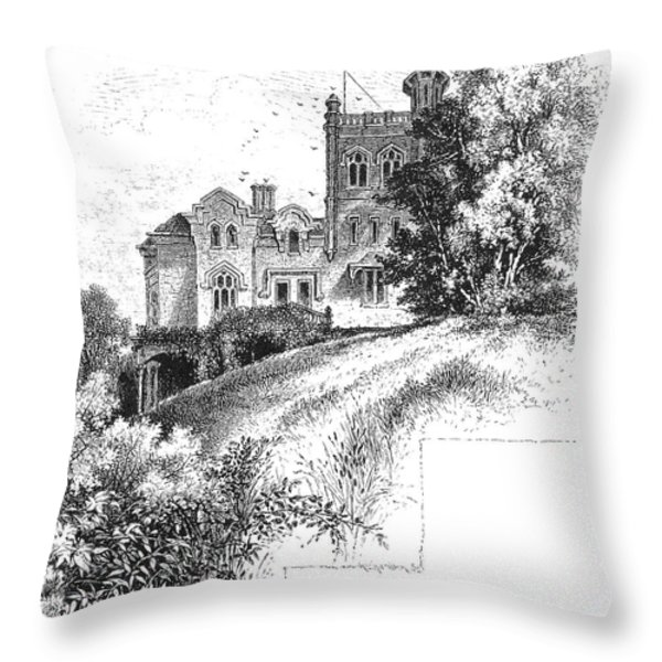 New York State: Villa Throw Pillow by Granger