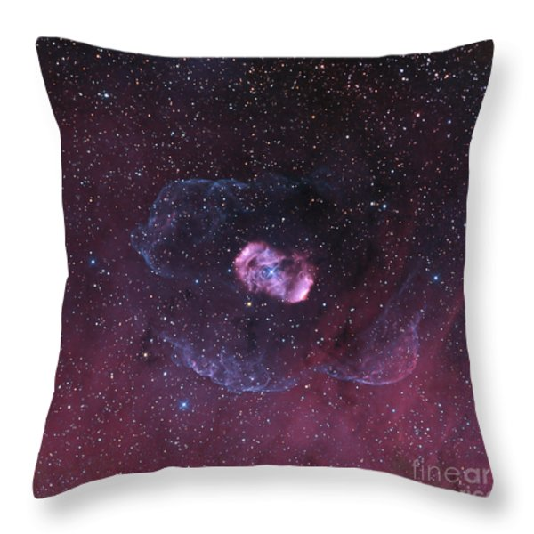 Ngc 6164, A Bipolar Nebula Throw Pillow by Don Goldman