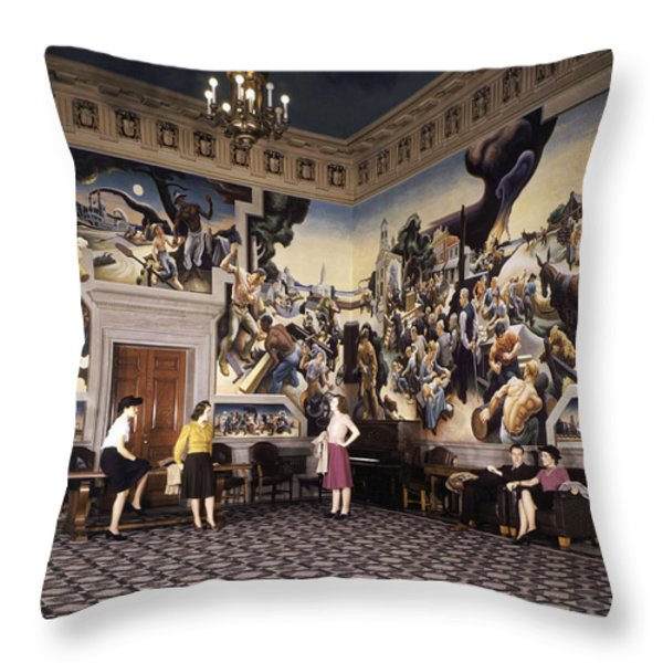 Ngs29_0745.tif Throw Pillow by National Geographic