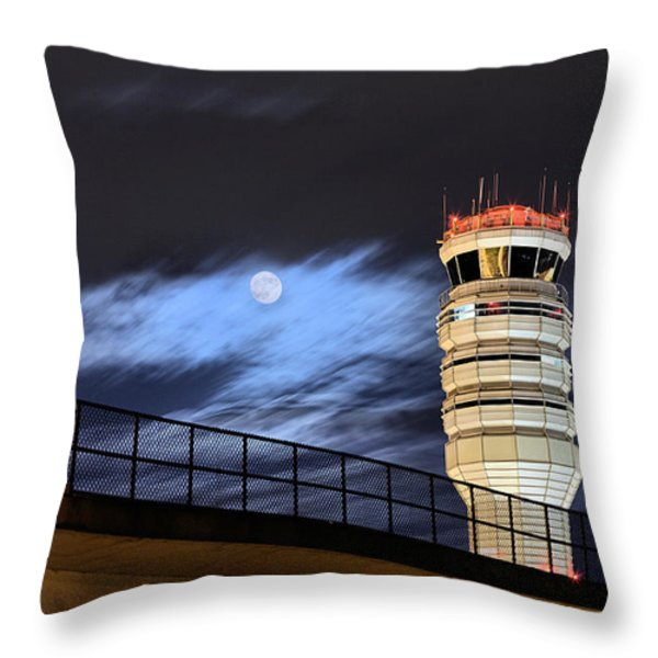 Night Watch Throw Pillow by JC Findley