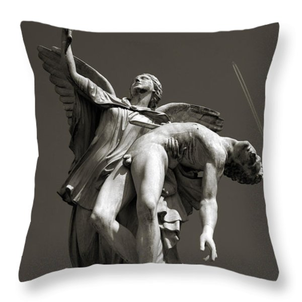 Nike Throw Pillow by RicardMN Photography
