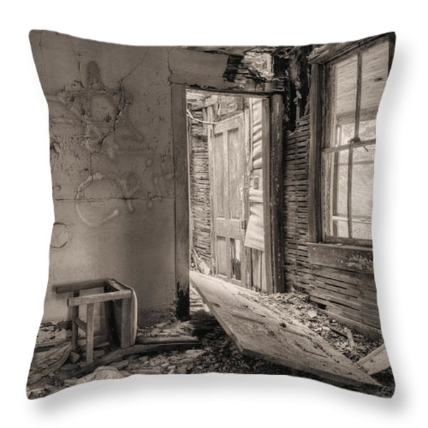 No Way Out II Throw Pillow by JC Findley