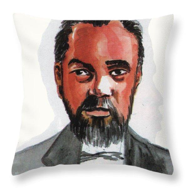 Norbert Rillieux Throw Pillow by Emmanuel Baliyanga