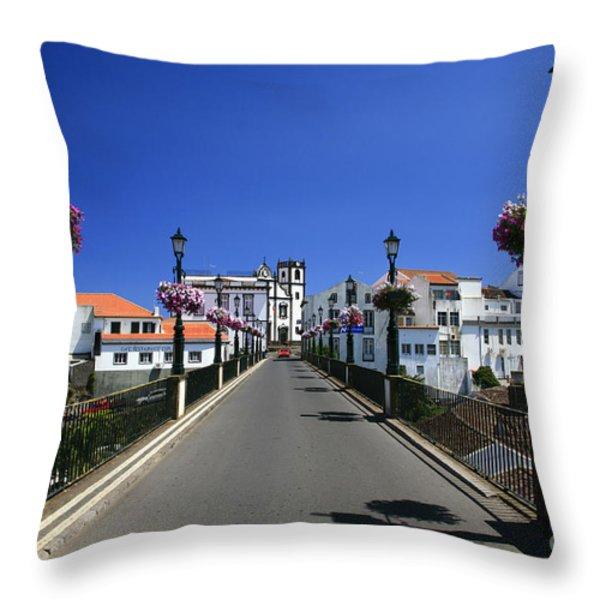 Nordeste - Azores Islands Throw Pillow by Gaspar Avila