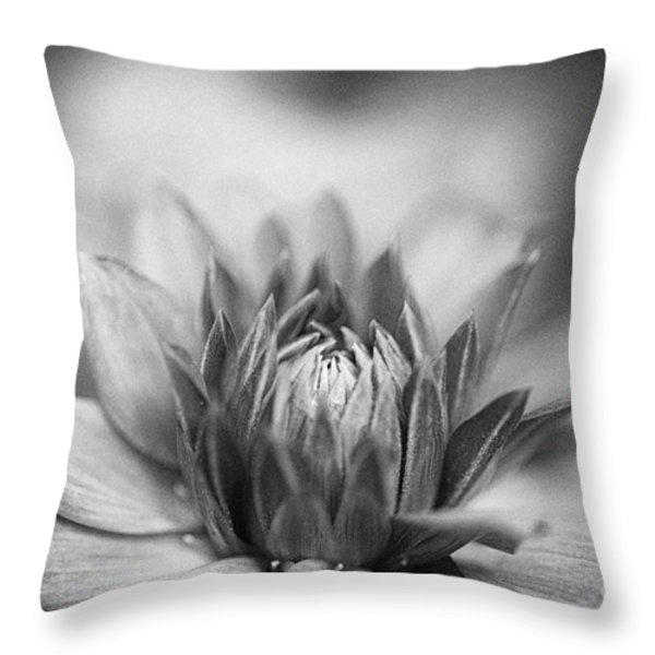 Nostalgic Dahlia Throw Pillow by Venetta Archer