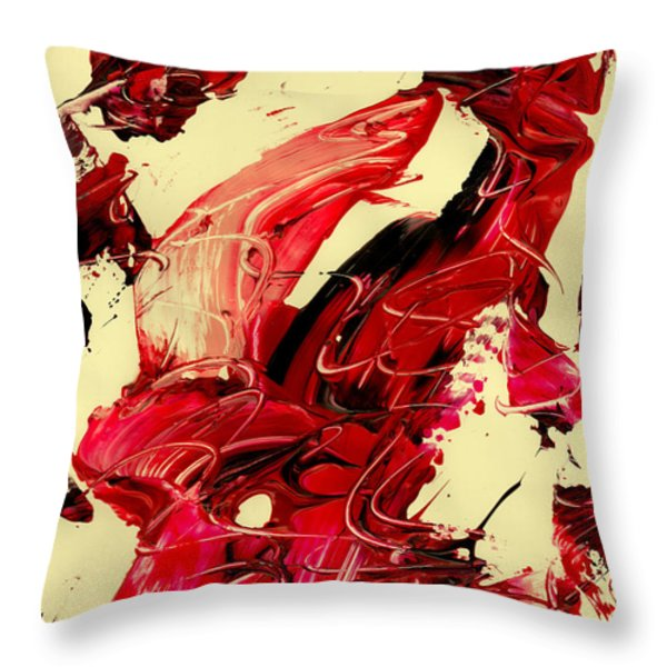 observe yourself Throw Pillow by Manuel Sueess