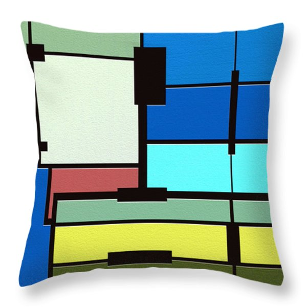 Obsession Throw Pillow by Ely Arsha