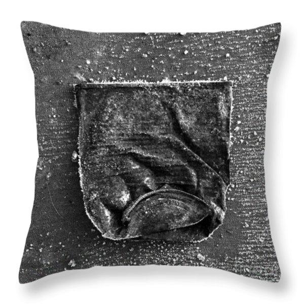 Old Crush Throw Pillow by Bernard Jaubert