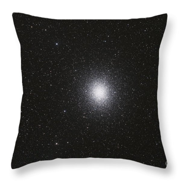 Omega Centauri Globular Star Cluster Throw Pillow by Philip Hart