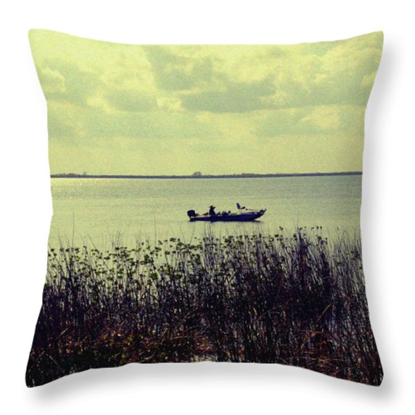 On a sunny Sunday afternoon Throw Pillow by Susanne Van Hulst