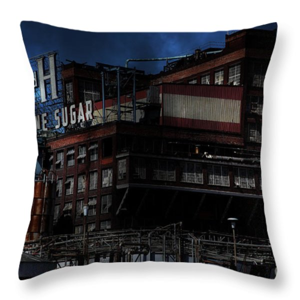 Once Upon A Time In The Sleepy Town Of Crockett California . 5d16760 Throw Pillow by Wingsdomain Art and Photography