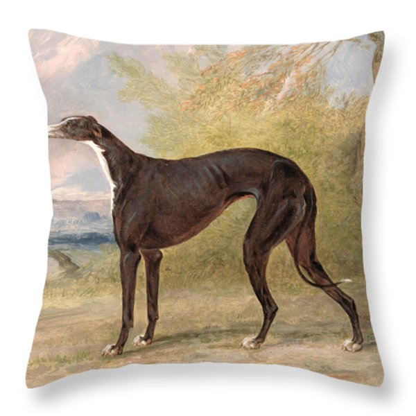 One Of George Lane Fox's Winning  Throw Pillow by George Garrard