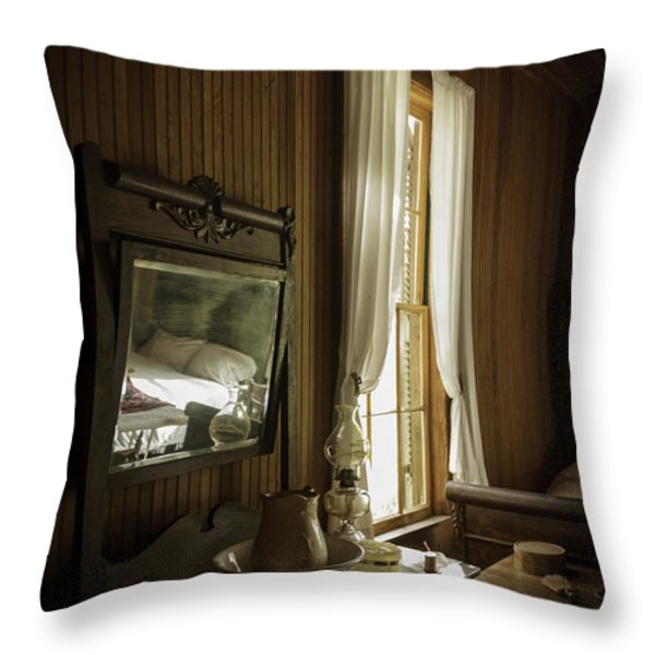 One Woman's Life Throw Pillow by Lynn Palmer