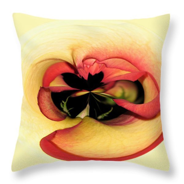 Open to Imagination Throw Pillow by Teresa Zieba