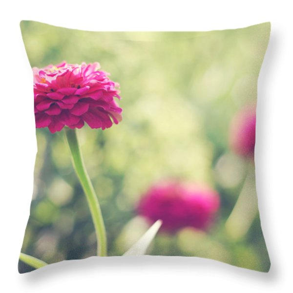 Ophelia Throw Pillow by Amy Tyler