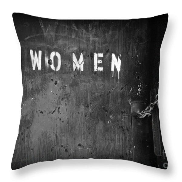 Oppression Throw Pillow by Luke Moore