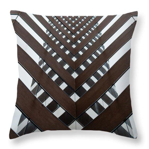 Optical Illusion Throw Pillow by Keith Allen