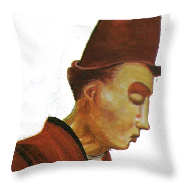 Origene Throw Pillow by Emmanuel Baliyanga