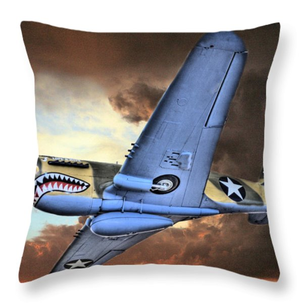 Out Of The Storm Throw Pillow by JC Findley