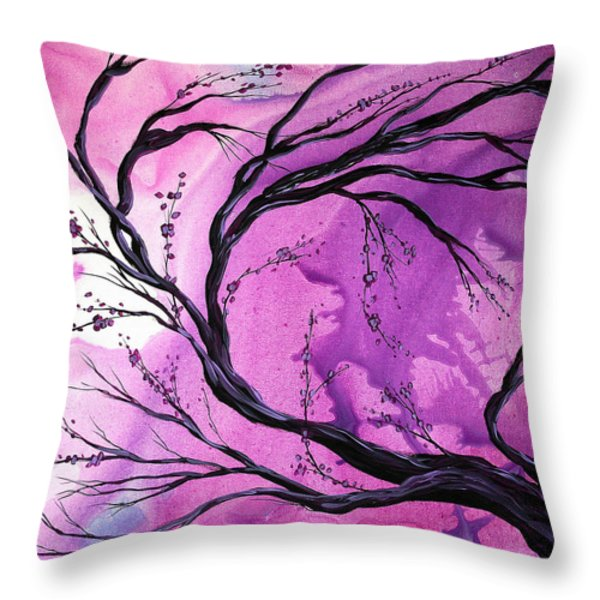 Passage Through Time by MADART Throw Pillow by Megan Duncanson