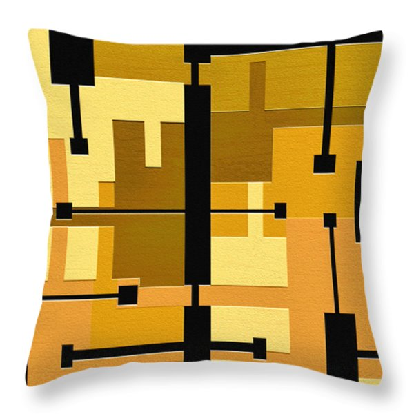 Passive Throw Pillow by Ely Arsha
