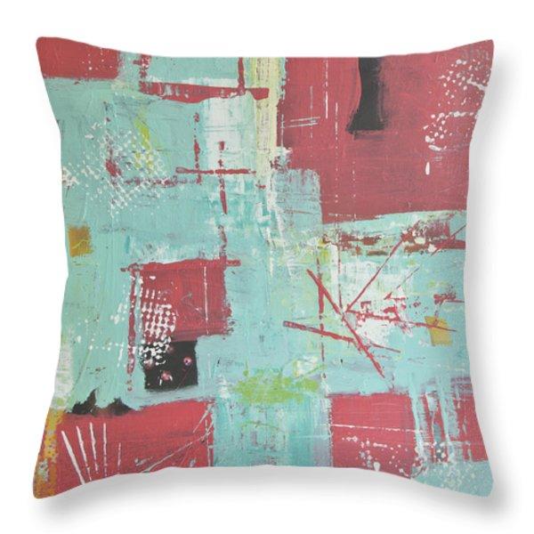Patterns Throw Pillow by Wayne Potrafka