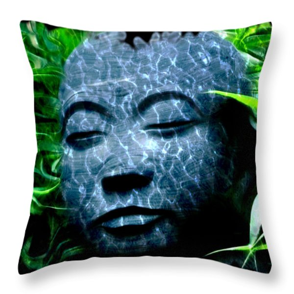 Peace and Tranquility Throw Pillow by Bill Cannon