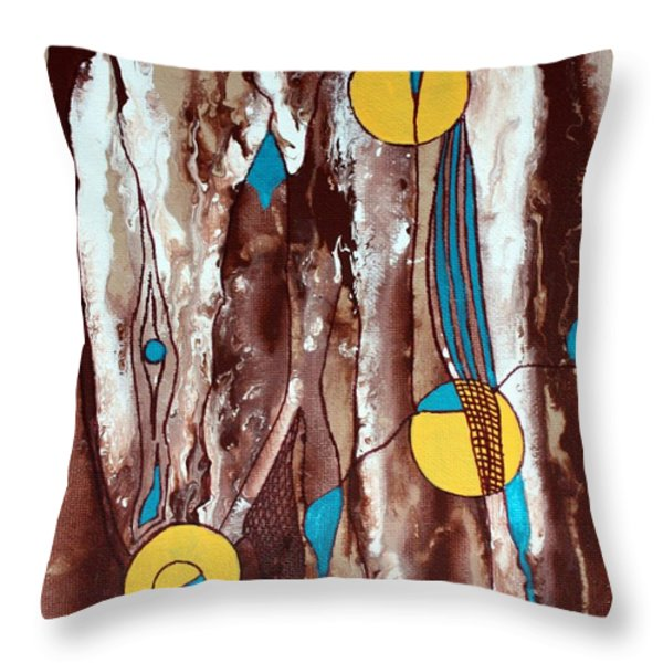 Peace Throw Pillow by Pat Purdy