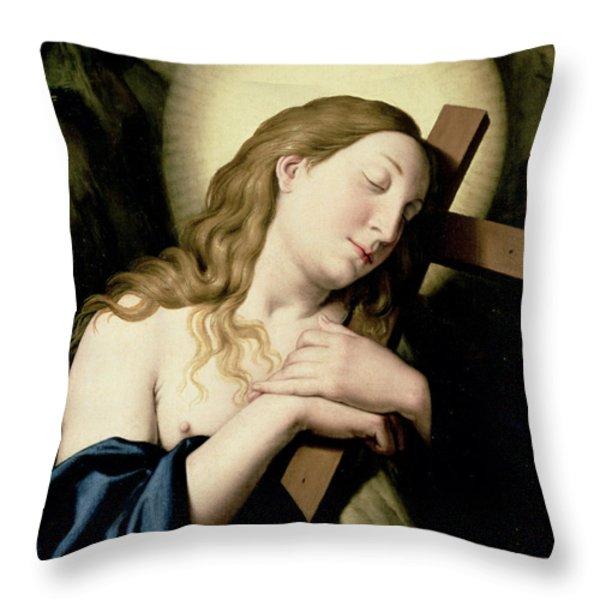 Penitent Magdalene Throw Pillow by Il Sassoferrato