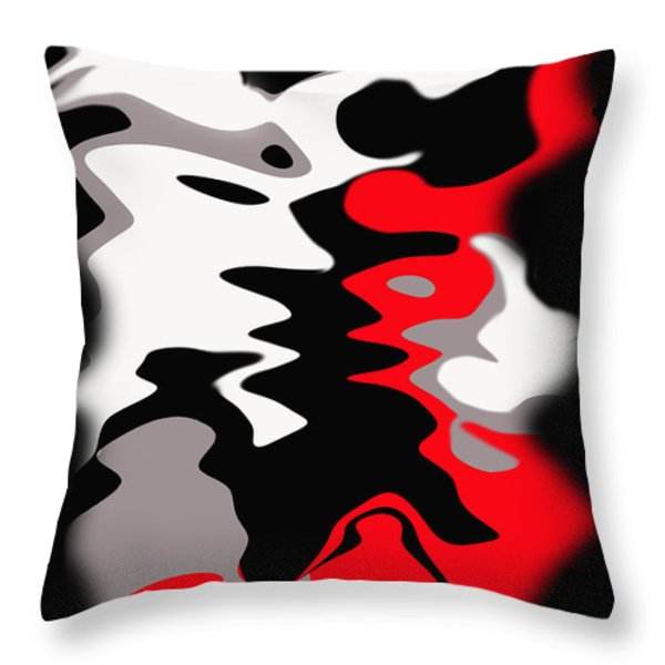 People Throw Pillow by Ketti Peeva