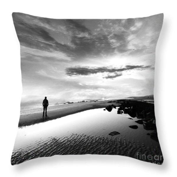 Per Sempre Throw Pillow by Photodream Art