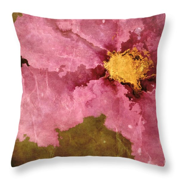 Petaline - ar01bt04c2 Throw Pillow by Variance Collections