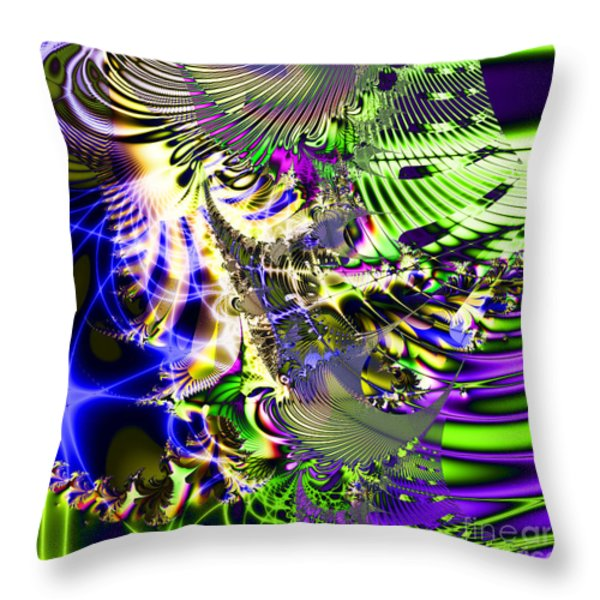 Phantasm . Square Throw Pillow by Wingsdomain Art and Photography