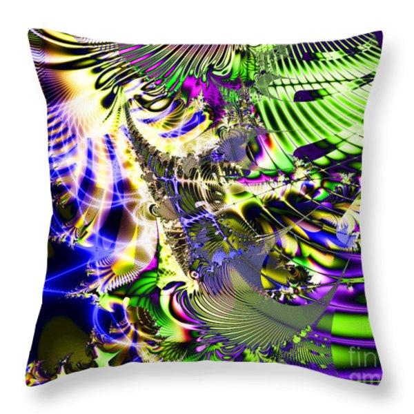 Phantasm Throw Pillow by Wingsdomain Art and Photography