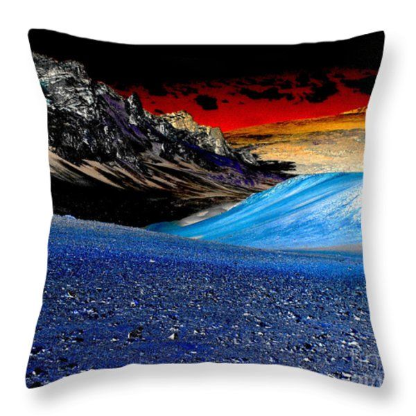 Pictures from Venus Throw Pillow by Rebecca Margraf