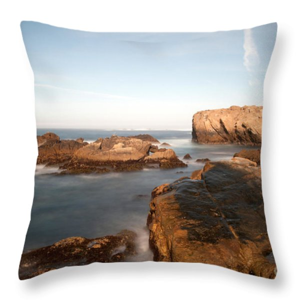point lobos number three Throw Pillow by Catherine Lau