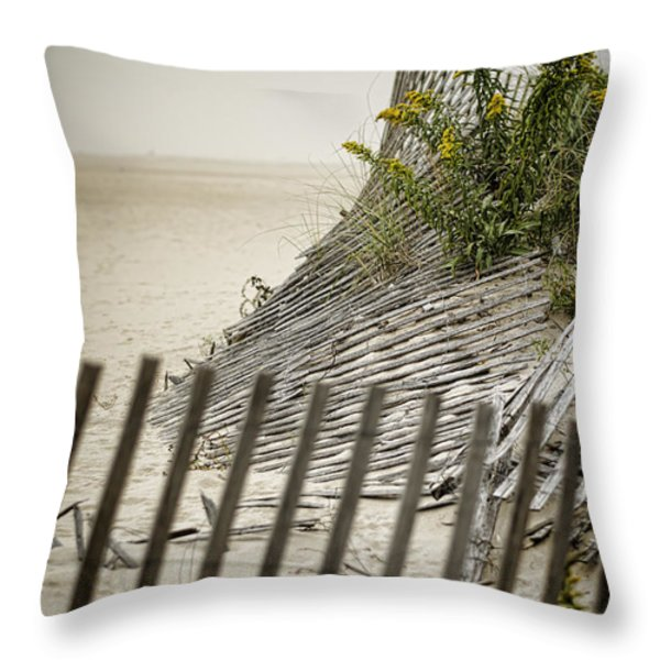 Point Pleasant Beach Throw Pillow by Heather Applegate