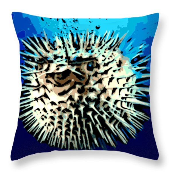 Pointed Opinion Throw Pillow by George Pedro