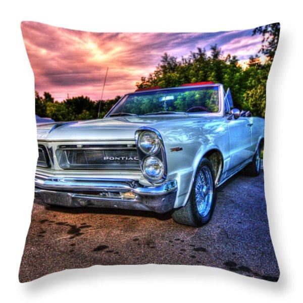 Pontiac Throw Pillow by Nicholas  Grunas