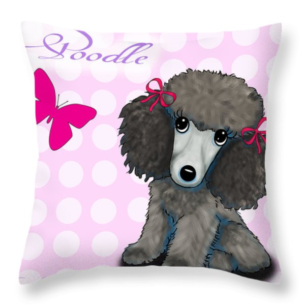 Poodle Cartoon Mixed Media By Catia Cho