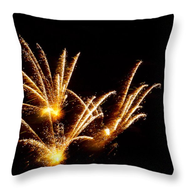 Poof Throw Pillow by Phill  Doherty